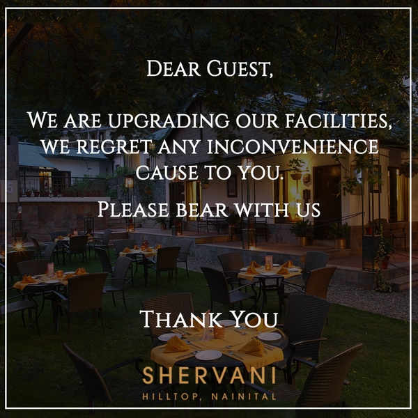 Shervani Hotel Offers